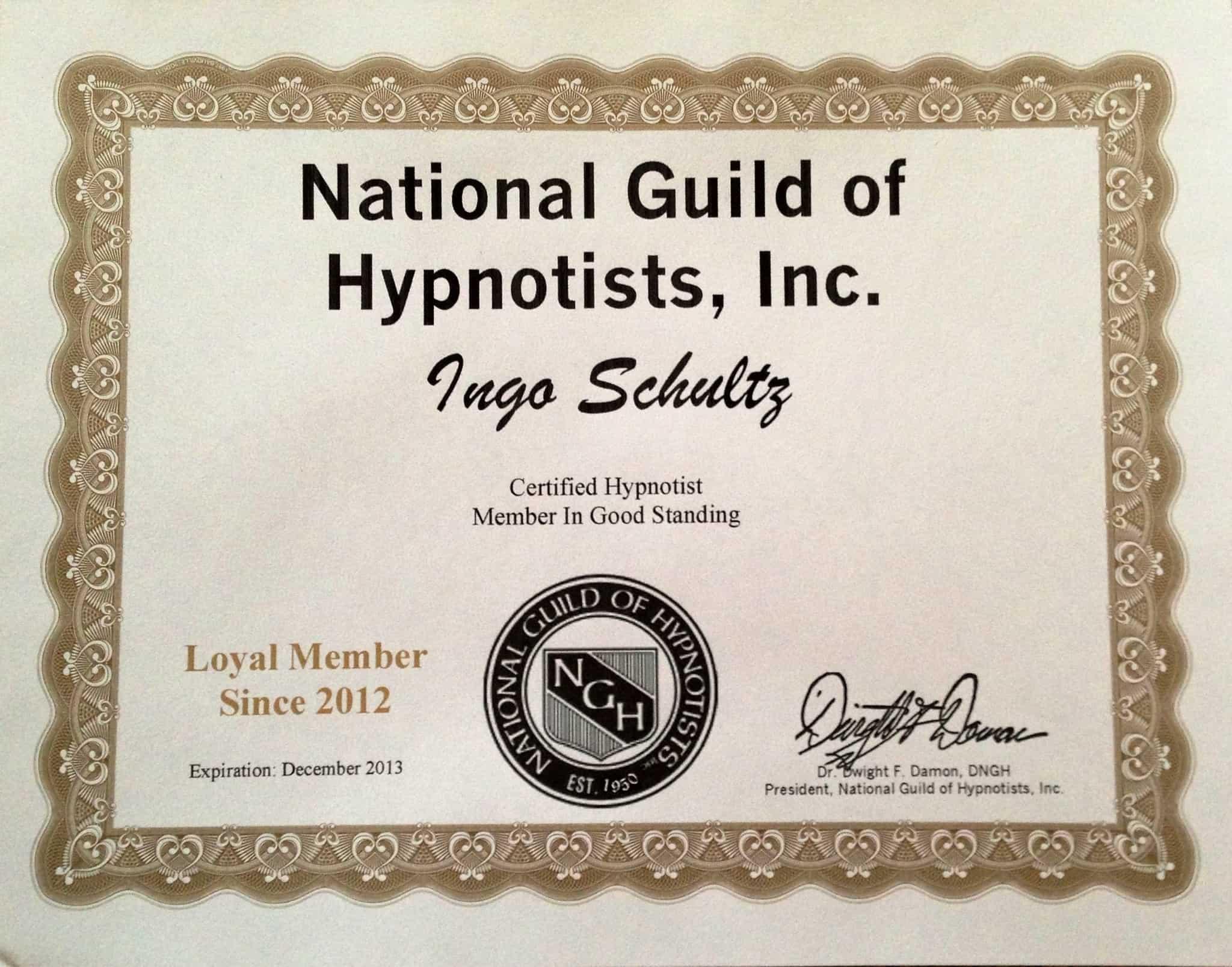 NGH Hypnose