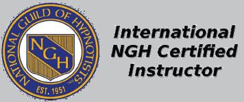 International Lizensierter  Ausbilder des weltgrößten und weltältesten Hypnoseverbandes